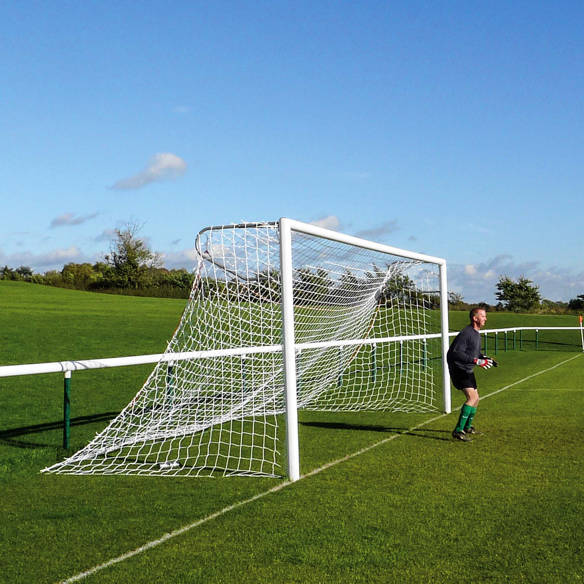 Best Backyard Soccer Goals : 24 x 8 [3mm] Soccer Goal Nets Senior Full Size  Net World Sports